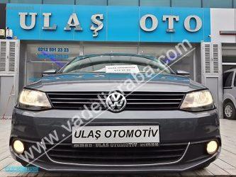 Volkswagen Jetta 1.6 TDi Highline 2012 Model Dizel Vade Yapılır