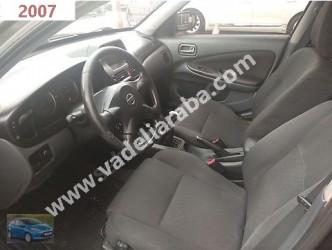 2007 MODEL Nissan Almera ( Benzin & Lpg )li Taksit ve Takas Yapılır